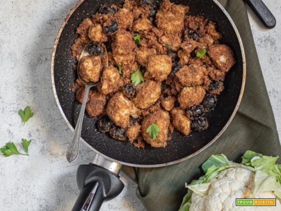 Cavolfiore gratinato in padella – ricetta veloce