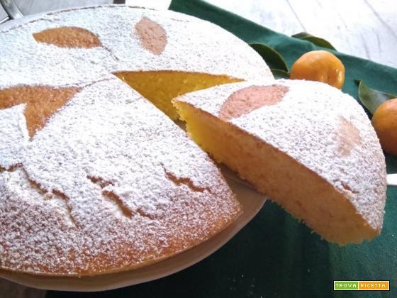 torta yogurt e mandarini