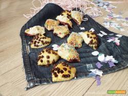 Tortelli di pasta sfoglia dolci