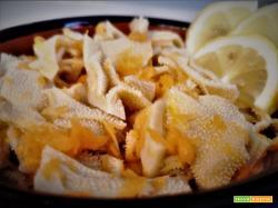 Foiolo in insalata con sale e limone