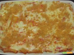 Ricetta – Rigatoni al forno alla siciliana