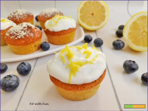 Muffin Chetogenici Cocco Zafferano e Limone