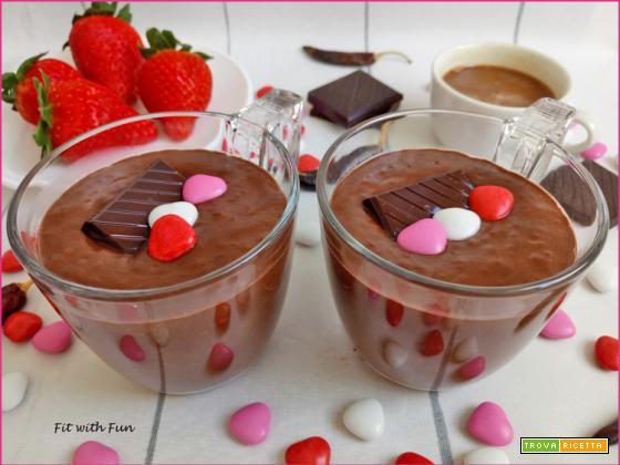 Cioccolata Calda Afrodisiaca di Chia Pudding