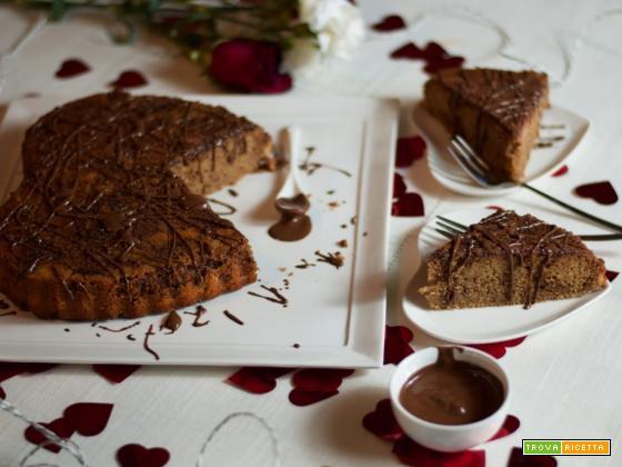 San Valentino: torta alla Nutella