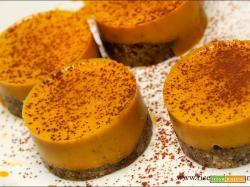 Zucca cake monoporzione senza glutine
