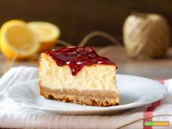 Cheesecake al Limone e Frutti di Bosco