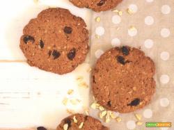 Cookies integrali all'uvetta