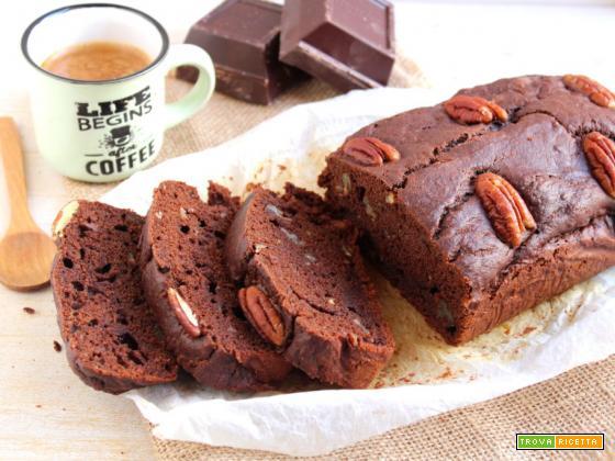 Banana bread al cioccolato, ricetta vegan