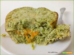 Cheesecake di Ricotta e Broccoli Low Carb