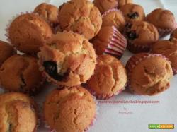 Mini muffin senza glutine e senza lattosio