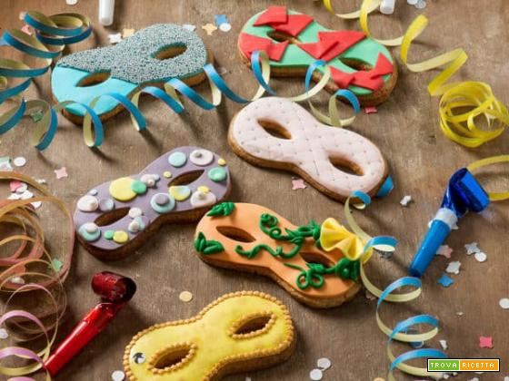 Mascherine decorate, il dolcetto perfetto per Carnevale