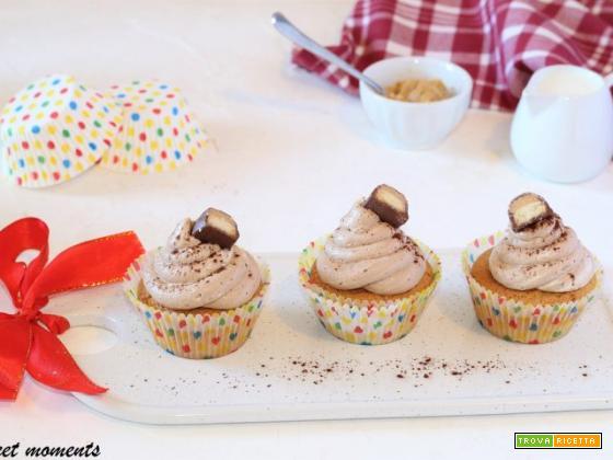 Cupcake al burro d'arachidi