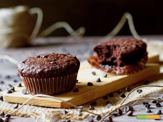 Muffin Cremosi al Cioccolato