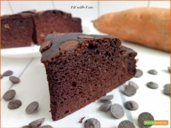 Torta Proteica Cacao e Farina di Patate Dolci