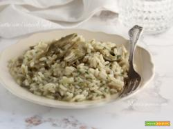 Risotto con i carciofi light