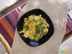 Verdure in salsa Curry
