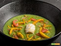 Crema di broccoli, calamari e fonio: una bontà!
