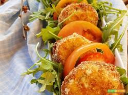 Polpette con zucchine, ricotta e pangrattato alle erbe