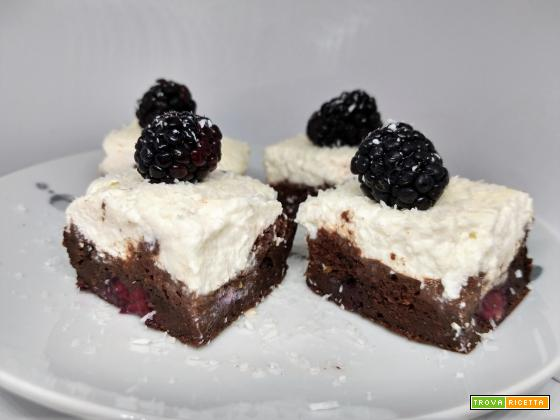 COCONUT&BLACKBERRIES SQUARES