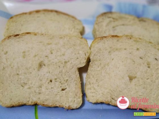 Pan bauletto dolce con lievito madre