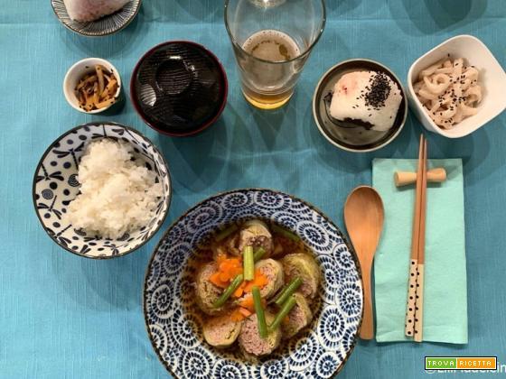 Ricette giapponesi invernali: i Roll Kyabetsu, gli involtini di verza ripieni di carne