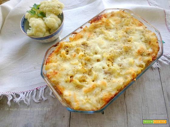 Pasta con cavolfiore e salsiccia