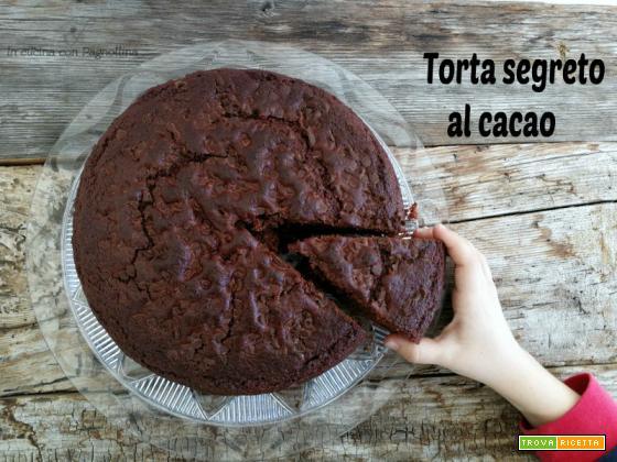 Torta segreto al cacao