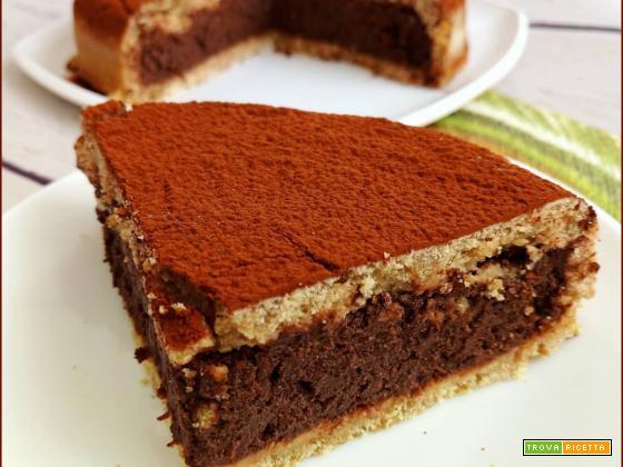 Pasta Frolla al Rum ripiena di Ricotta Cocco e Cacao
