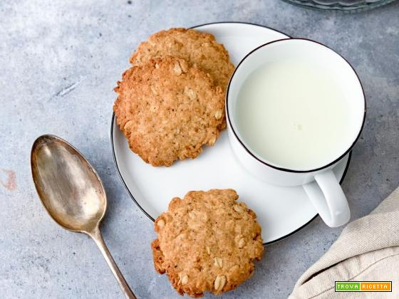 Biscotti Avena e Grano Saraceno (Vegan)