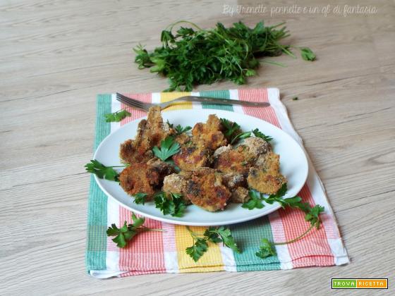 Funghi champignon gratinati