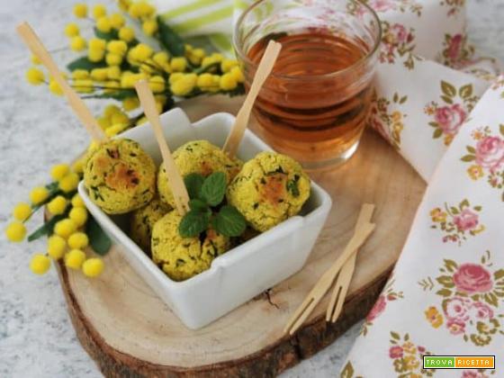 Polpettine croccanti di zucchine per la festa della Donna