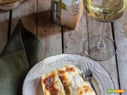 Cannelloni di crepes alle verdure: ricetta facile
