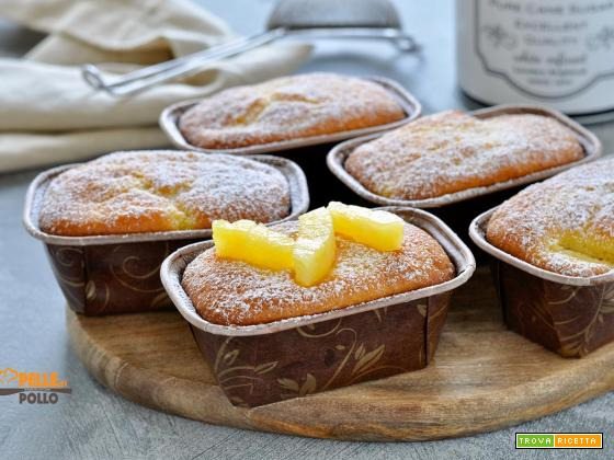 Plumcake all'ananas e yogurt
