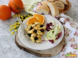 Pollo all'arancia e olive, un'idea per la Festa della Donna