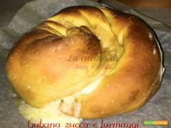 Gubana salata zucca e formaggi   Ricetta sfiziosa