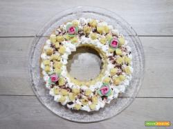 Cream tart mimosa per la festa della donna