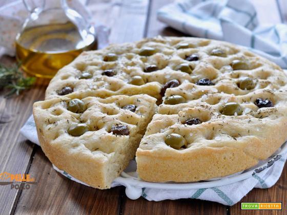 Panfocaccia alle olive