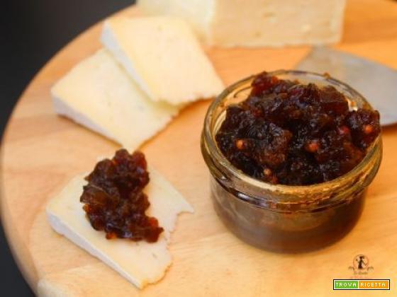 Gelatina di birra e spezie per accompagnare i formaggi