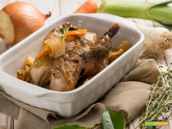 Cucinando la cacciagione: pernici al forno con le verdure