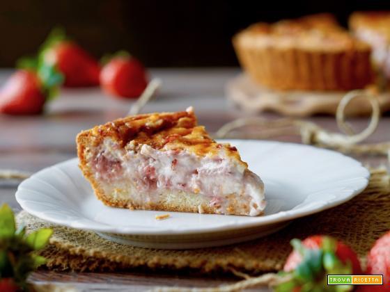 Crostata Morbida alle Fragole e Mascarpone