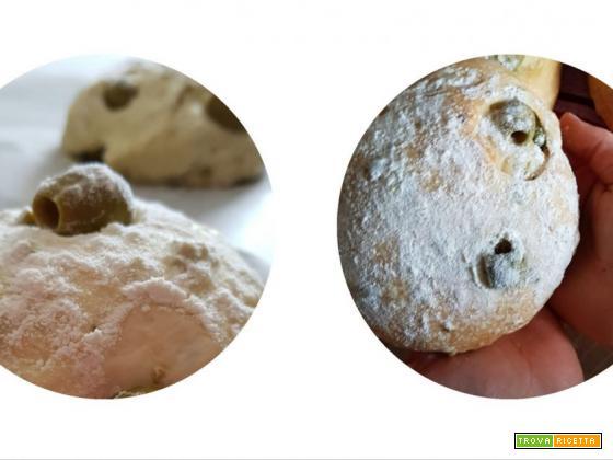 Ricetta dei panini alle olive