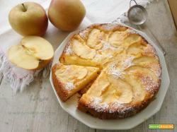 Torta di mele e limone senza glutine