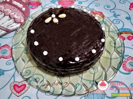 Torta al cioccolato e marmellata di albicocche con il bimby