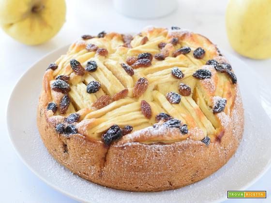 Torta di Mele e Uvetta (senza burro)