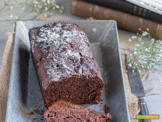 Plumcake soffice al cioccolato – ricetta facile