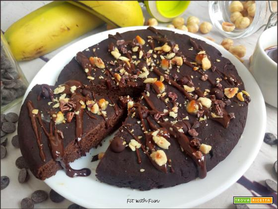 Focaccia Dolce e Light al Triplo Cioccolato