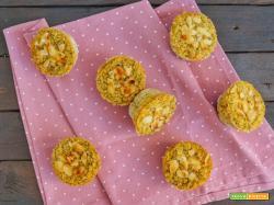 Tortini di polenta taragna con cuore tenero