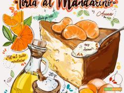 Le vostre ricette disegnate da Daria Rosso: ecco la torta al mandarino di Anna