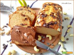 Pane Dolce Proteico con Anacardi e Cioccolato