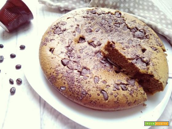 torta vegana caffè e cioccolato